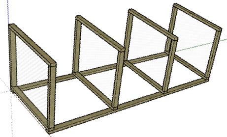 Как сделать ящик для компоста своими руками, чертеж