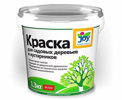 Краска для садовых деревьев и кустарников