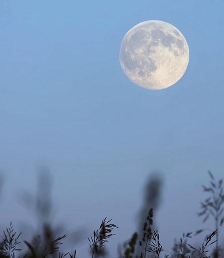 Луна в полнолуние