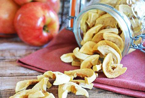 Заготовки из яблок. Сушеные яблоки