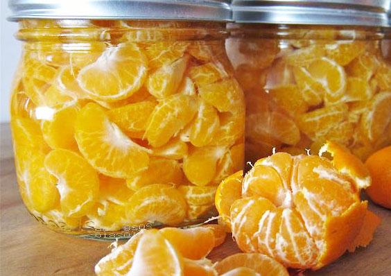 Заготовки на зиму из цитрусовых. Компот из мандаринов