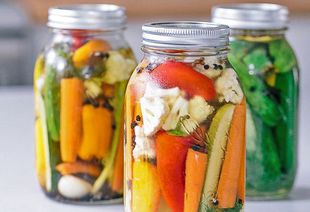 Заготовки на зиму - овощное ассорти